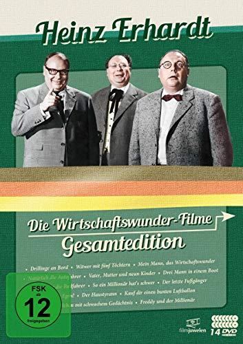 Heinz Erhardt Wirtschaftswunder Gesamtedition (Filmjuwelen) [4 DVDs]