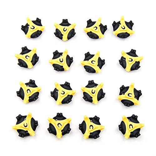 LEORX Pedalplatten Ersatz Bulk Spike Cleats 16pcs Golf Cleats Champ Schuhe Spikes Stinger (Bulk Spike)