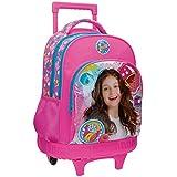 Disney Luna Star Mochila Escolar, 31.65 Litros, Color Rosa