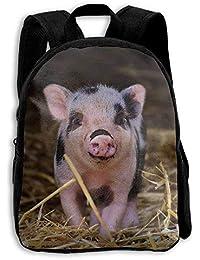 Piglet Wildpark Poing Baby Fun Character Mochila para niños, Mochila para Libros Escolares, 16.5