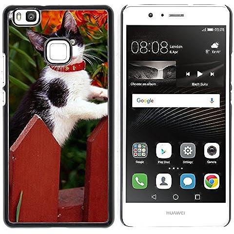 Loire Dura Variopinta Stampato Protettiva Copertura Shell Di Caso Della Pelle Huawei P9 Lite / G9 Lite (Not for P9)Huawei P9 Lite / Huawei G9 Lite (Not for P9) ( Staccionata