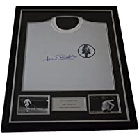 Sportagraphs Jack Charlton SIGNED FRAMED Leeds United Shirt Photo Autograph Football & COA PERFECT GIFT