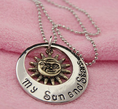 My Sun and Stars/moon of My Life Khal & Khaleesi Pandant Necklace-game of Thrones by fashion