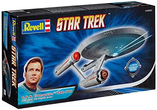 Doppelpack STAR TREK Bausatz USS Enterprise NCC-1701 + Klingonischer Schlachtkreuzer 07 | Revell 07642-9090