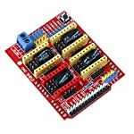 Description: The extension board can be used for carving machine, 3 d printer driver expansion board A total of 4 way of stepping motor driver module slot, can not into the motor drive 4 road, and every step motor all the way only need two IO mouth, ...