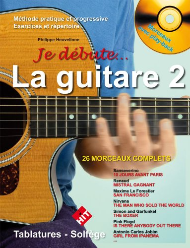 Heuvelinne : Je Debute la Guitare + CD V...
