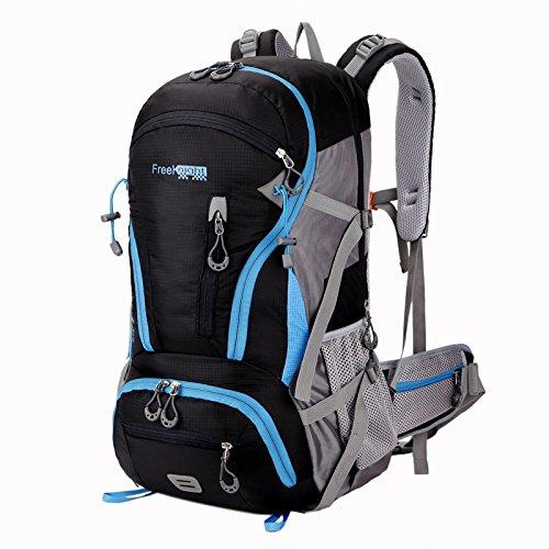 Outdoor Sport, Taschen, Rucksäcke, Reisetaschen, Männer Und Frauen, Die Mit Großer Kapazität, Camping, Bergsteigen Taschen Black