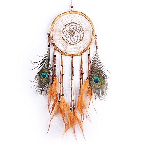 Dreamcatcher Geschenk handgefertigt Indian Dream Catcher Wind Chimes Feder Anhänger Wandbehang Home Dekoration Ornament