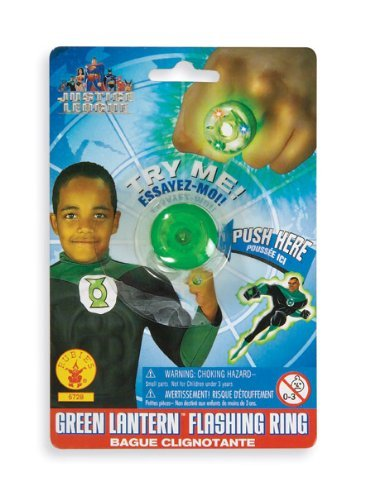Rubie's Green Lantern Ring DC Comics für Kinder