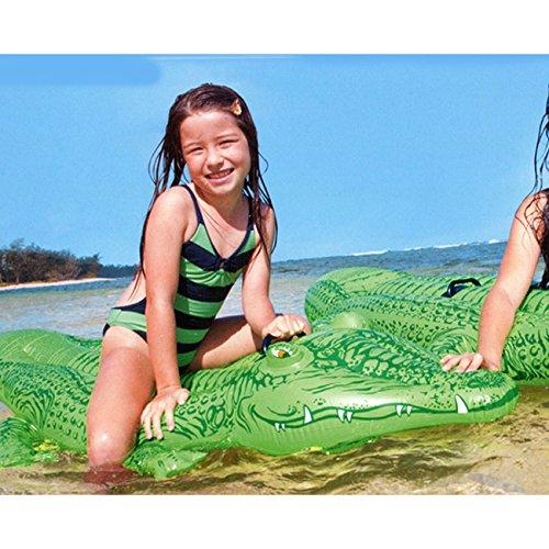 Kinder aufblasbaren Alligator cm 168 X 86 cm