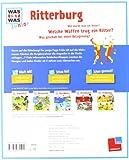 WAS IST WAS Junior Band 6 - Ritterburg: Was gehört zu einer Burg? Wie lebten die Ritter? - Eva Dix