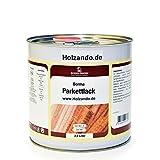 PROFI PU Parkett- und Treppenlack EN71-3 Zertifiziert (2,5 Liter, Seidenmatt - 30)
