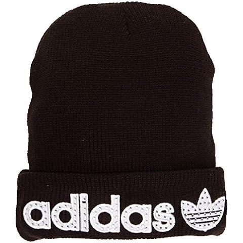 Adidas–Berretto da donna nuovo anno, unisex, New Year, Black, Taglia unica