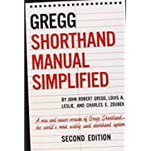 The Gregg Shorthand Manual Simplified (Business Books)