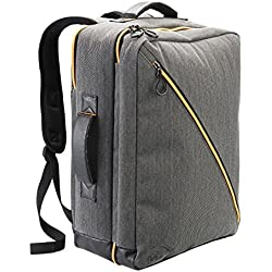 Cabin Max® Oxford Zaino da Cabina - Bagaglio a Mano Con Tasca Porta Laptop sullo Schienale - Rivestimento UV - 50 x 40 x 20 cm - 40 L (Gris)