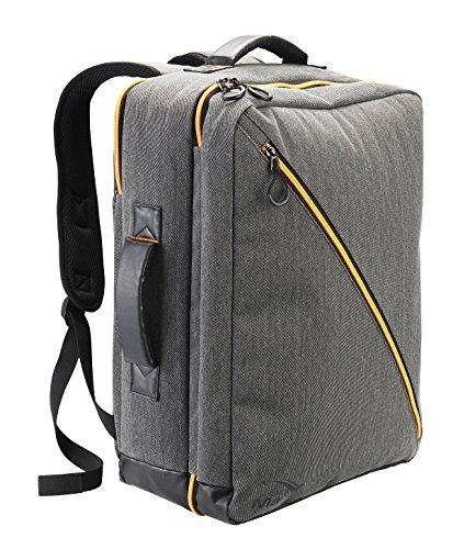 Cabin Max Oxford Premium Handgepäck Kabinentasche 40L Volumen 50 x 40 x 20 cm - Wasserfeste Laptoptasche mit praktischen Organisationsfächern - Rucksack für Ryanair Flüge (Grau) -