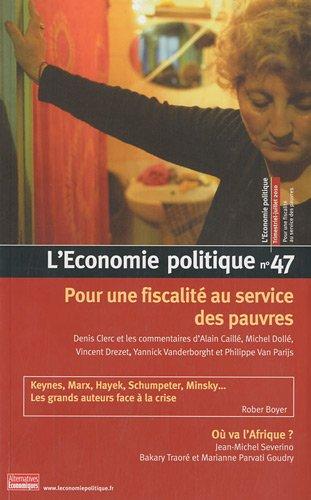 L'Economie politique, N° 47, Juille...