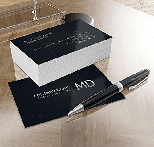 Business Visitenkarten - Online gestalten! Despri Design VK007, 250 Stück, glänzend