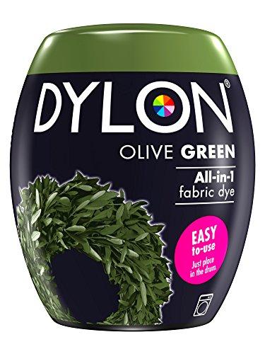 Dylon Maschine Dye Pod, Olivgrün, 8.5 x 8.5 x 9.9 cm (Dye Dylon Fabric Permanent)