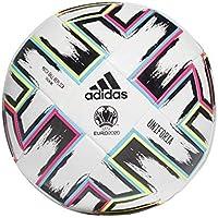 Adidas UNIFO TRN, Pallone da Calcio Uomo, White/Black/Signal Green/Bright Cyan, 5