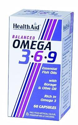 HealthAid Omega 3 - 6 - 9 - 60 Capsules from HealthAid