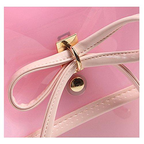 Fletion, Borsa a zainetto donna Pink