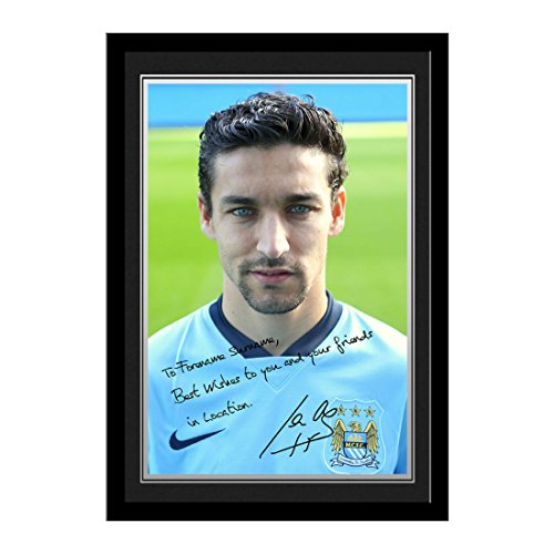 personalised-navas-autograph-photo-mounted-framed-best-wishes-personalised-this-is-a-fantastic