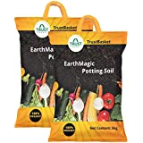 Trust basket Enriched Organic Earth Magic Potting Soil Fertilizer for Plants -10 Kg