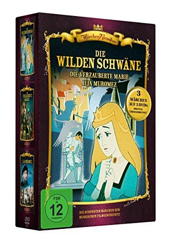 Märchen-Box 5 (Die wilden Schwäne - Die verzauberte Marie - Ilja Muromez) 3 DVDs Preisvergleich