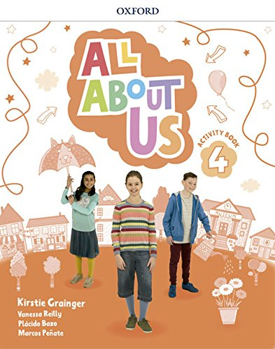 All About Us 4. Activity Book por Kirstie Grainger