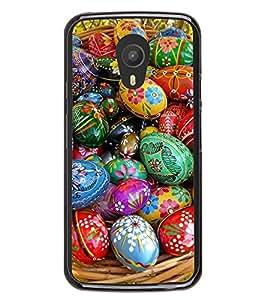 Colourful Ester Eggs 2D Hard Polycarbonate Designer Back Case Cover for Meizu M1 Note
