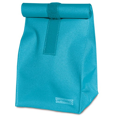 Authentics Rollbag Grand, Sac à Fermeture Enroulable, Polyester, Turquois, 26X49X19 cm, 6031386