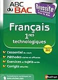 ABC du BAC Réussite Français 1res technologiques