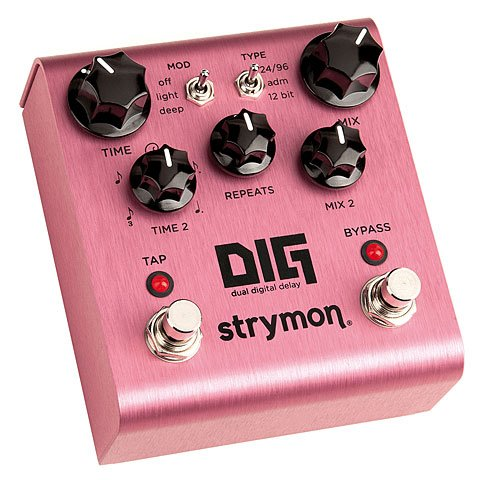 STRYMON DIG DUAL DIGITAL DELAY · PEDAL GUITARRA ELECTRICA