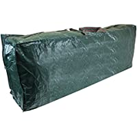 CKB Ltd® Premium CHRISTMAS TREE Storage Bag Holder Holds Stores Your Artificial Xmas Tree Jumbo Size for trees up to 9ft tall – Heavy Duty Zip Up Sack– Ideal to use in the Loft Shed Garage