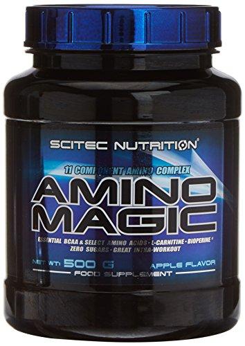 Scitec Nutrition Amino Magic aminoácidos Manzana 500 g