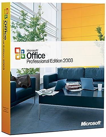 Microsoft Office 2003 Édition Professionnel OEM - 1 Unité