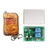 YuLinStyle 220 V KR2202-4 + KT02 2-Wege-Funkfernbedienungsschalter Controller mit 433 MHz 2-Wege-Taste 1527 for das Erlernen der Funkfernbedienung, Verbundmaterial Elektronikmodul -
