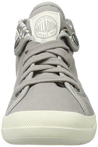 Palladium Damen Aventure Sneaker Grau (Elephant Skin/Marshmallow/Pyramid Print)
