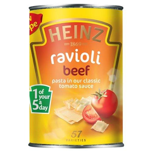 Heinz Ravioli Beef 6x400g