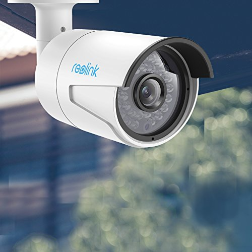 Reolink IP PoE Security Camera 4 Megapixels Super HD 2560*1440 Audio Support Bullet Outdoor Indoor IR Night Vision Motion Detection RLC-410
