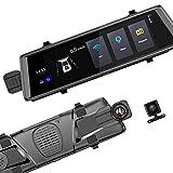 Auto 3G WiFi-Spiegel Dash CAM, Android 5.0 GPS-Navigator 10 Zoll Rücksicht-Recorder Fahren FHD 1080p Videorekorder