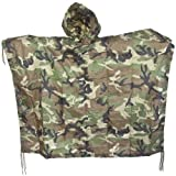Mil-Tec impermeable Poncho Ripstop Woodland