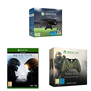 Xbox One 500GB Console with FIFA 16, Halo 5: Guardians and ... Official Xbox One Console