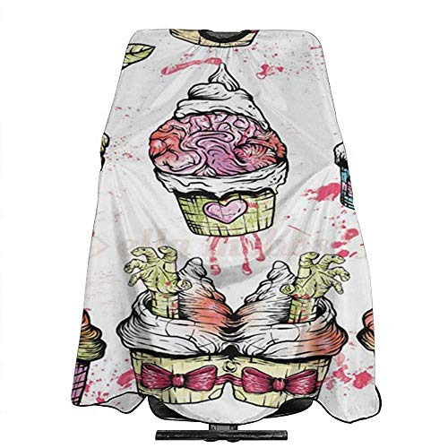 Zombie Cupcake Barber Cape for All Perfect Salon Delantal