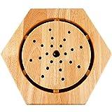 Instrument d'aromathérapie Appareil de moxibustion Assis, boîte de moxibustion de Banc de moxibustion de Filles à la Maison de Corps de Traitement en Bois Portant Fort