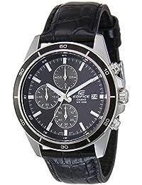 Casio Edifice Chronograph Black Dial Men's Watch - EFR-526L-1AVUDF (EX096)