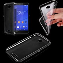 Donkeyphone UT0061 - Funda gel para Sony Xperia E4 D2202 D2203 (silicona ultra fina) transparente