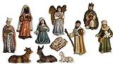 Krippenfiguren Krippenset 11tlg., orientalisch geeignet für 8cm Figuren