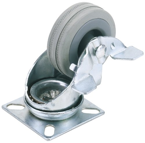 draper-65479-100mm-dia-swivel-plate-fixing-rubber-castor-with-brake-swl-80kg